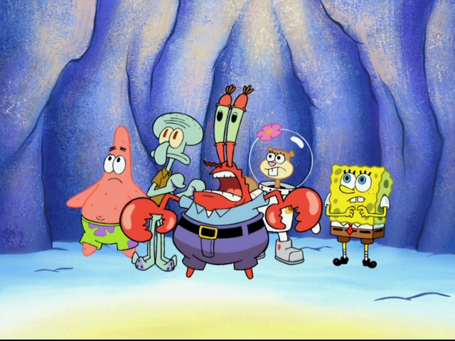 Grown Spongebob And Sandy