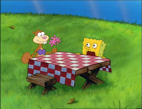 Spongebuddy Mania Spongebob Episode Tea At The Treedome