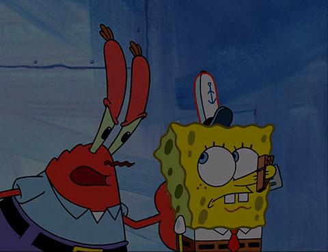 SpongeBuddy Mania SpongeBob Episode Imitation Krabs