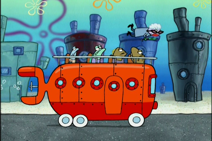 SpongeBuddy Mania SpongeBob Episode Crossing The Street