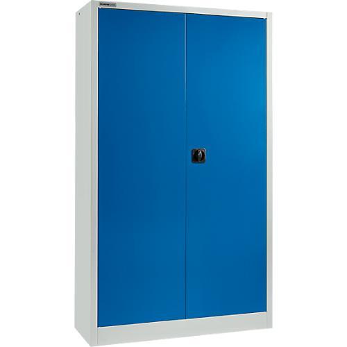 ssi schafer armoire a materiel msi 2412 acier 1200 x 400 x 1935 mm gris clair bleuenzia