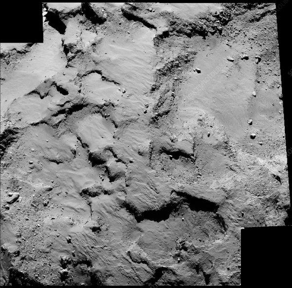 Philae probe landing site - Stock Image - C022/7416 ...