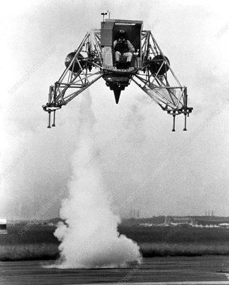 Apollo 12 Lunar Landing Training Vehicle - Stock Image ...