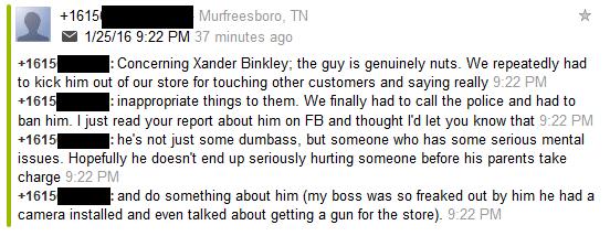 xander report 3