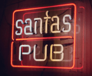 santas pub logo
