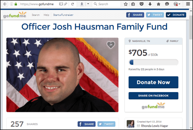 gofundme screenshot
