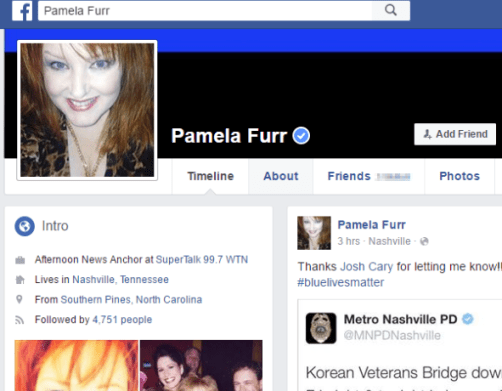 pamela furr facebook verified