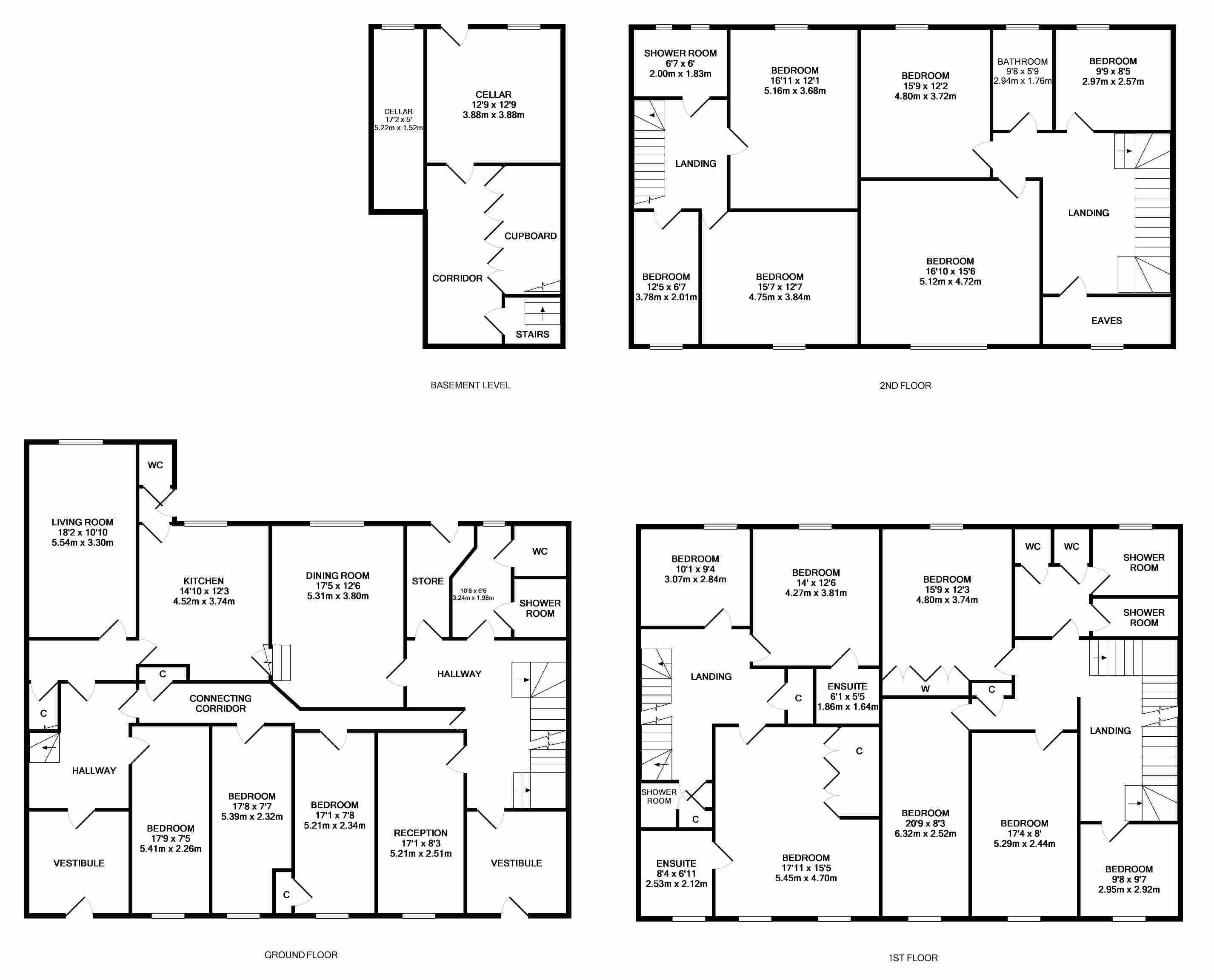 15 Spectacular 20 Bedroom House Plans