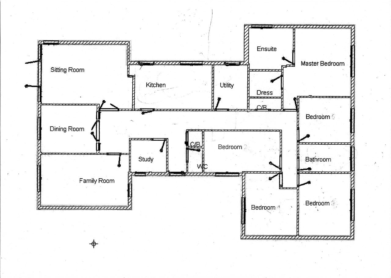 Free 5 Bedroom Bungalow House Plans