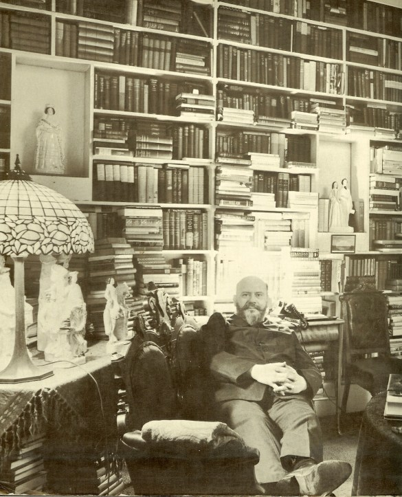 Francis Robinson at home, New York