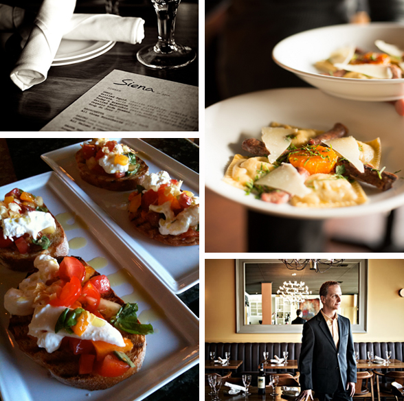 Siena is located at 1485 West 12th Avenue in Vancouver, BC | 604-558-1485 | www.eatsiena.com