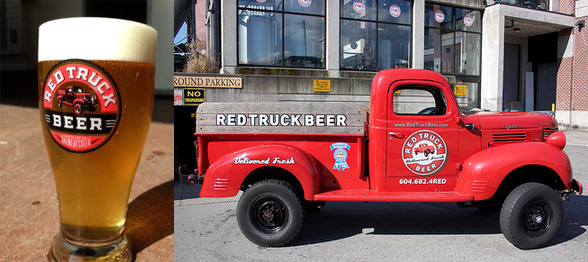 Red Truck Beer Co. is located at 1015 Marine Dr. in North Vancouver   604-682-4733   www.redtruckbeer.com
