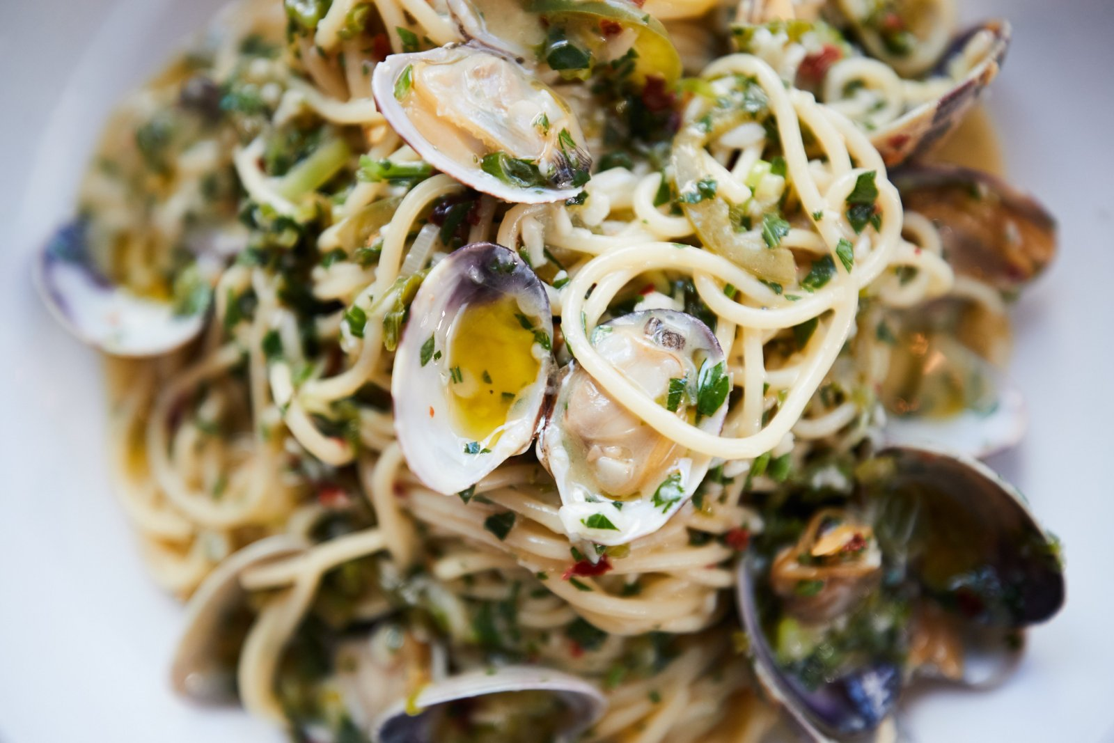 Try Your Hand at Nightingale's Spaghetti and Manila Clam Recipe
