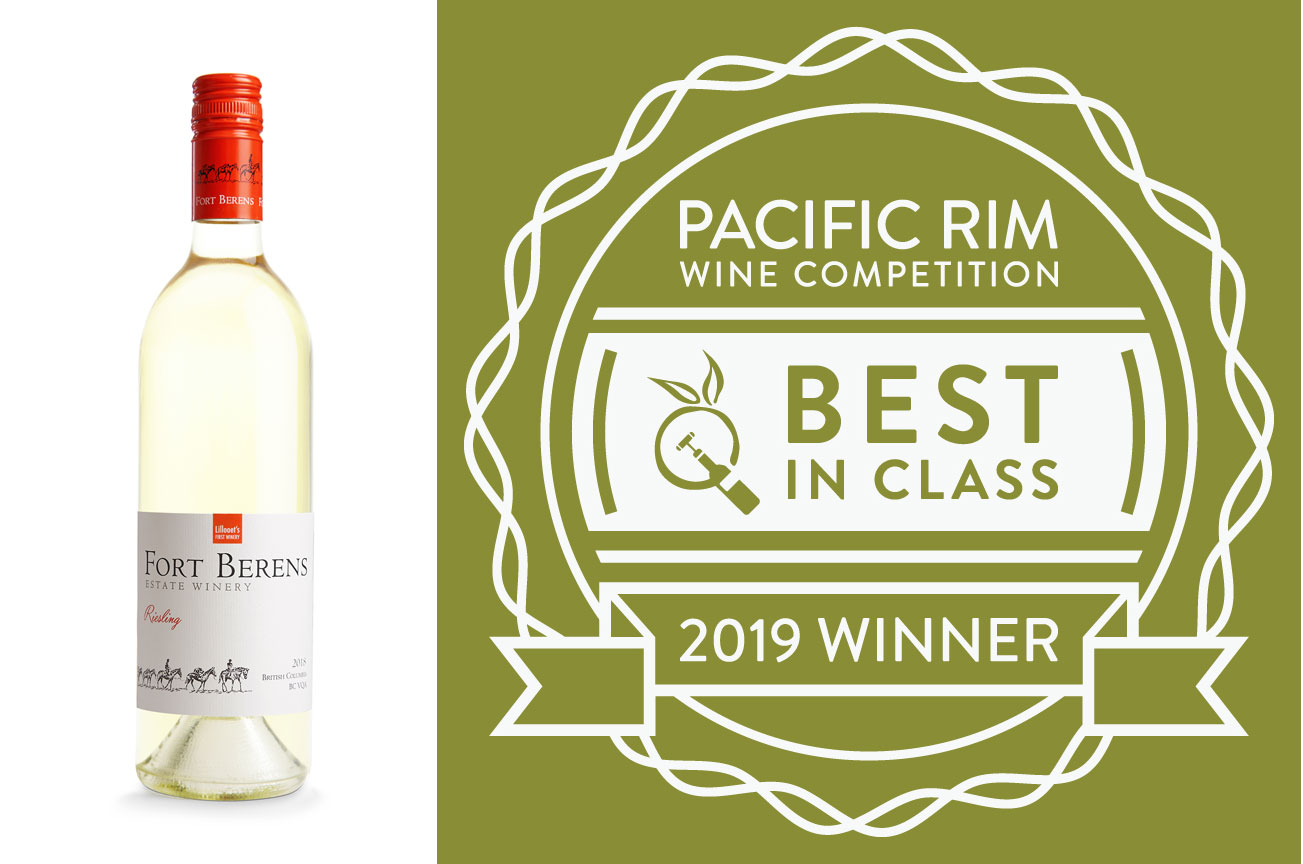 Fort Berens' Riesling Wins 'Best White Wine' at Pacific Rim Wine Competition