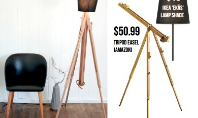 Simple Wooden Floor Easel | Wooden Thing