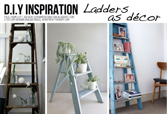 Trying To Decide If I Should Get One Of These Ladders For My Pretty Eclectic Rustic Home Love Salvaged Items But Think Maybe This Trend Is On The Way