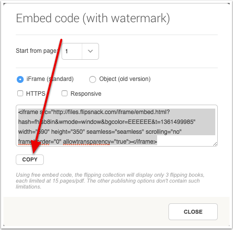 Copy Embed Code (with watermark)
