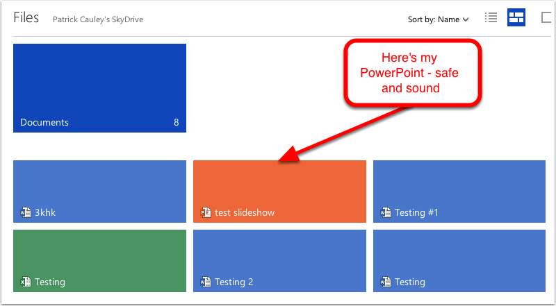 Step 3 - Play your PowerPoint