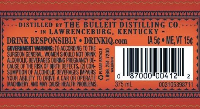 Gulp! Where'd that bourbon come from? | San Diego Reader