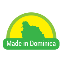 Made in Dominica button 4a