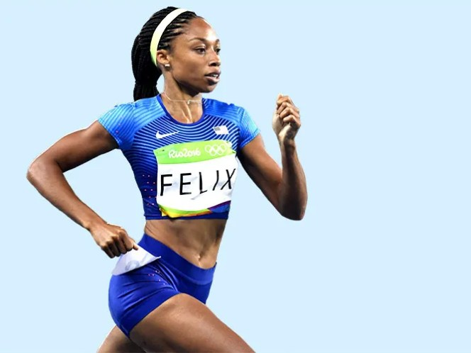 Olympic Sprinter Allyson Felix S Favorite Pre Workout Meal Self