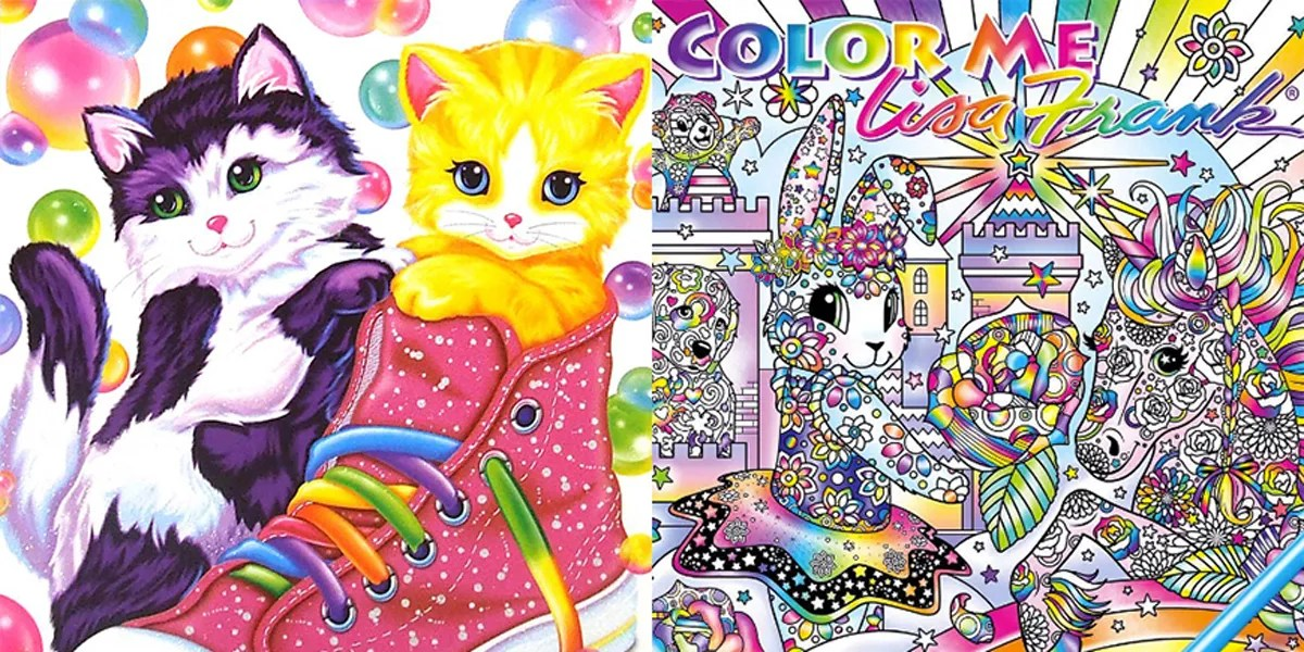 A Lisa Frank Adult Coloring Book Is Coming And We Are