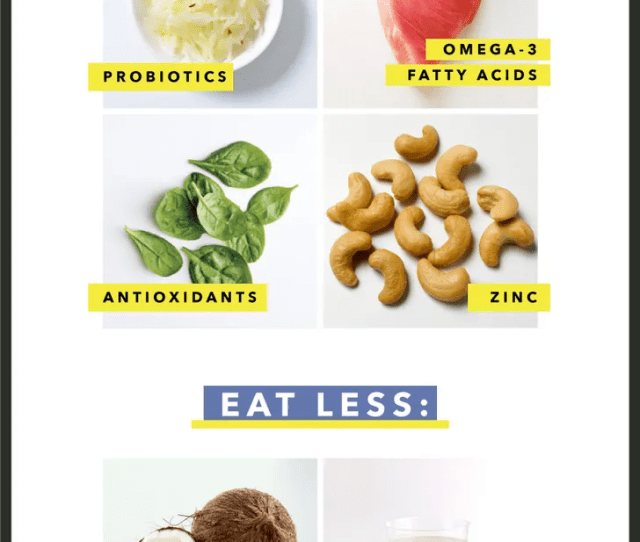 Fill Your Plate With These Foods That Fight Inflammation And Acne