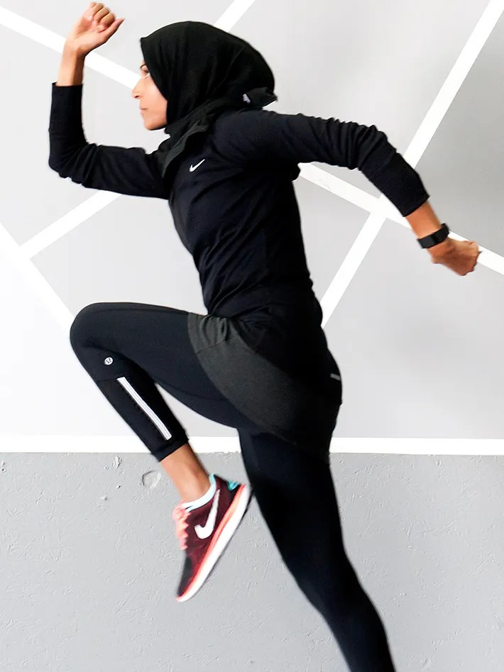 Zumba is a modern sport combines fitness with dance steps, since zumba appeared from the. Meet Zehra Allibhai The Hijabi Mom Poised To Become A Fitness Star Self