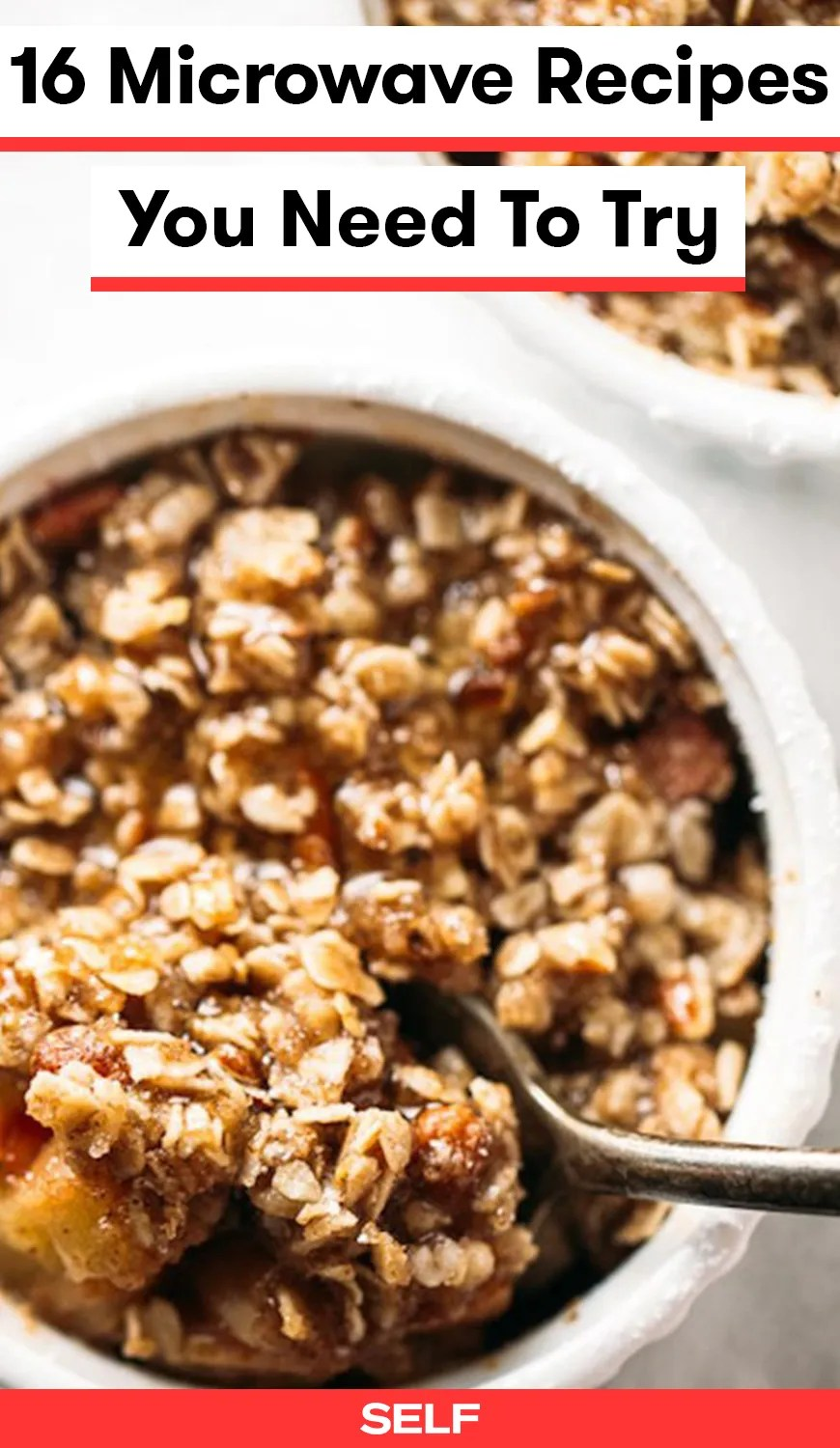 16 healthy microwave recipes for