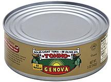 Genova Tuna Tonno Solid Light Premium Yellowfin in