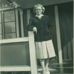 Gun Hedström Andersson, foto från 1952.