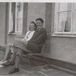 Annborg Granström 1920-2000 med lillebror Torsten 1925-1998.