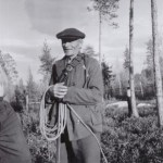 Nils Teilus 1886-1969, eller Nils Petter Mattsson Teilus som var hela hans namn, ett av Teilus-gubbens nio barn. Udtjabo i hela sitt liv. Gift med Nanny Nilsson och far till Eva, Alf och Eve-Marie.