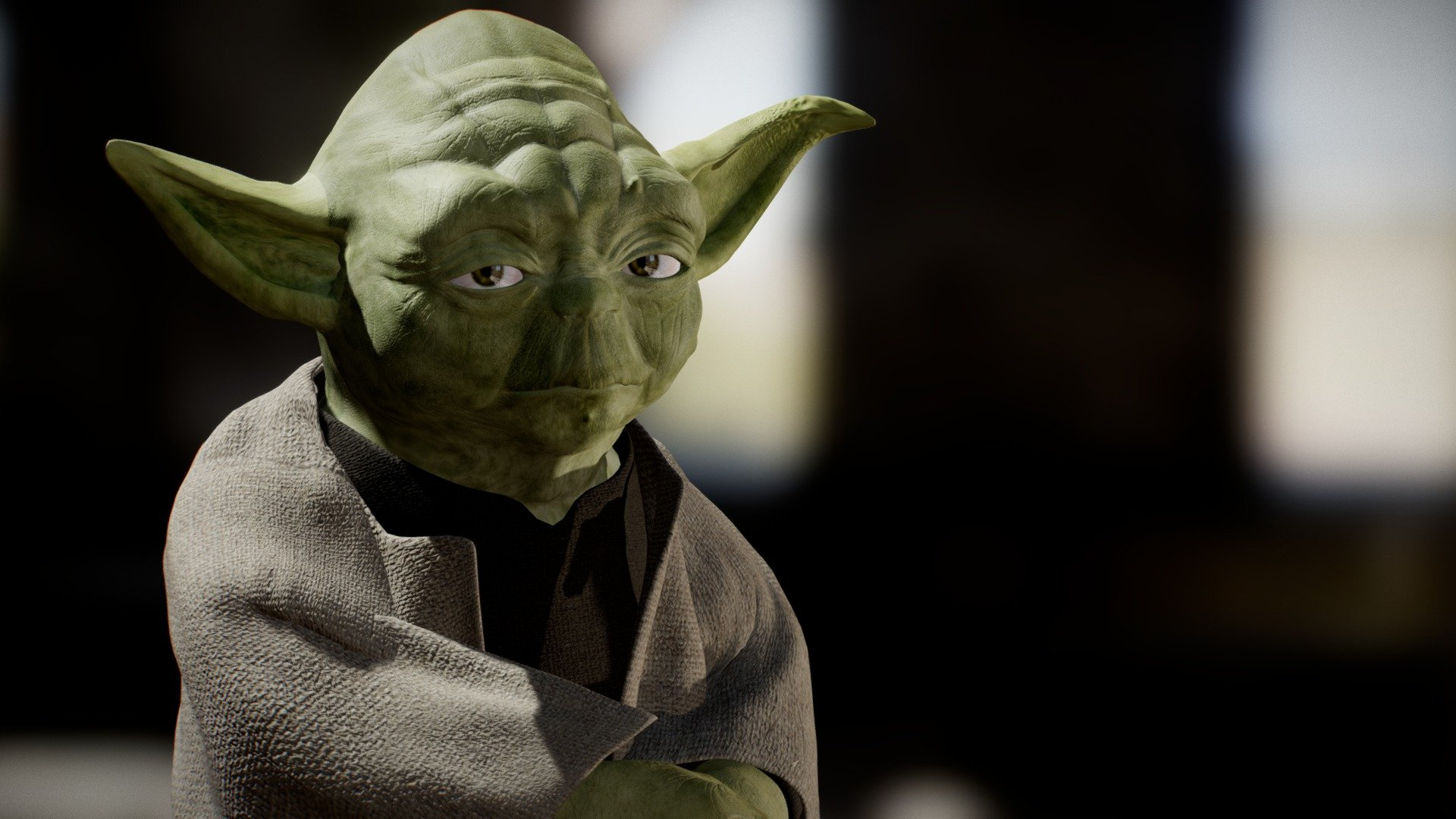 Master Yoda Download Free 3d Model By Blazer003