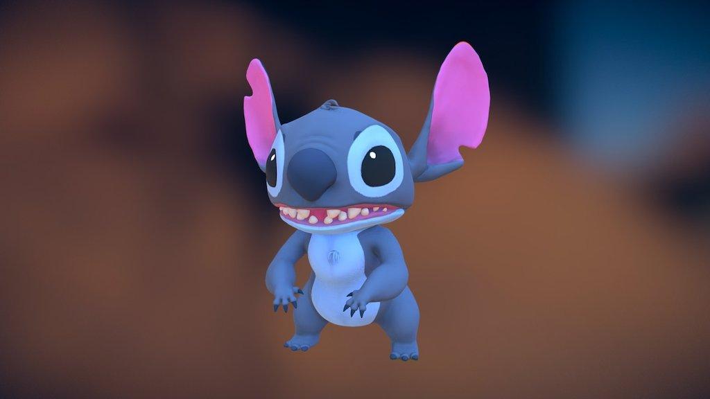 Stitch Fan Art Download Free 3d Model By Bema Nastya