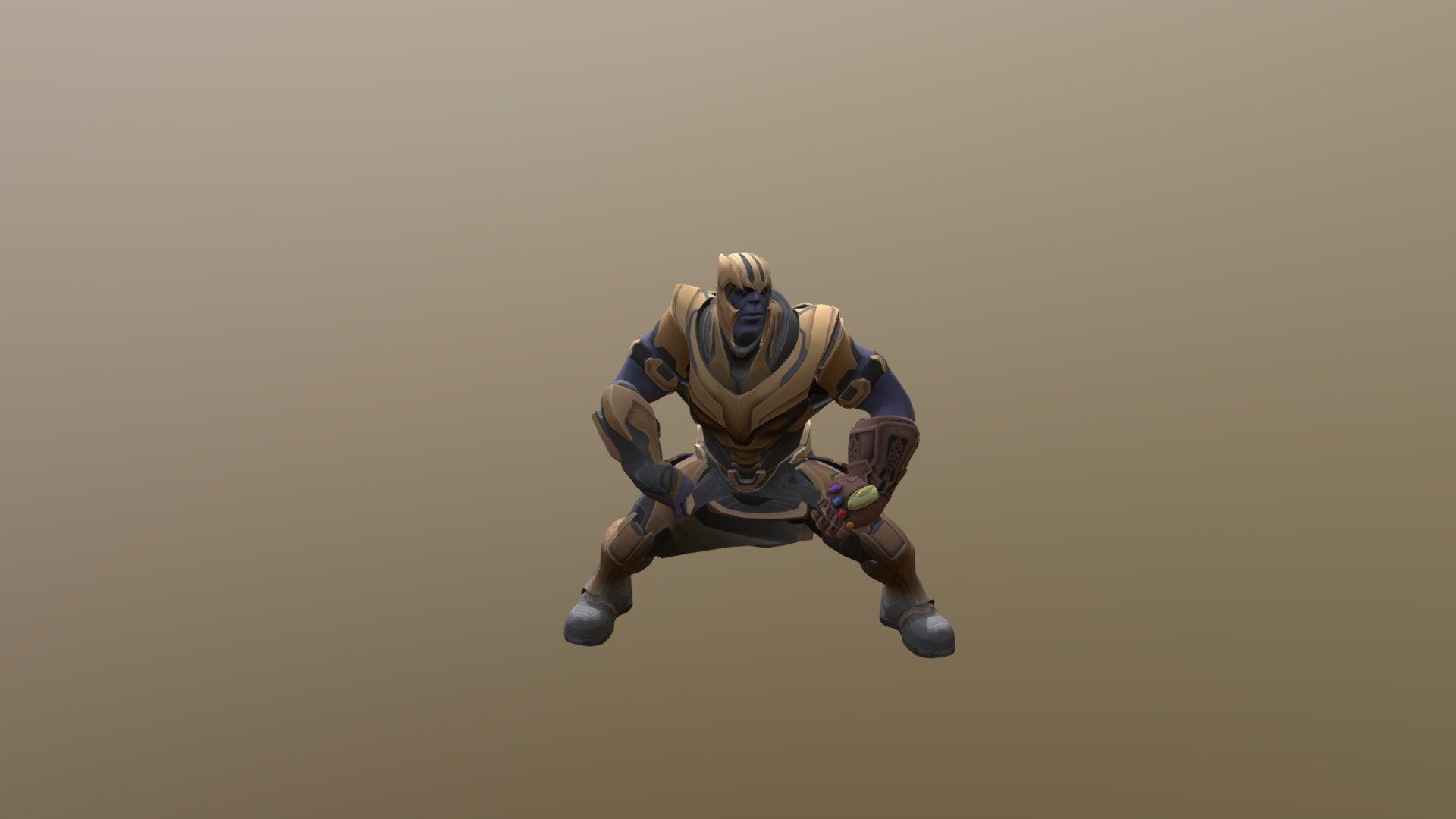 Thanos Dancing Twerk Ver2 Download Free 3d Model By