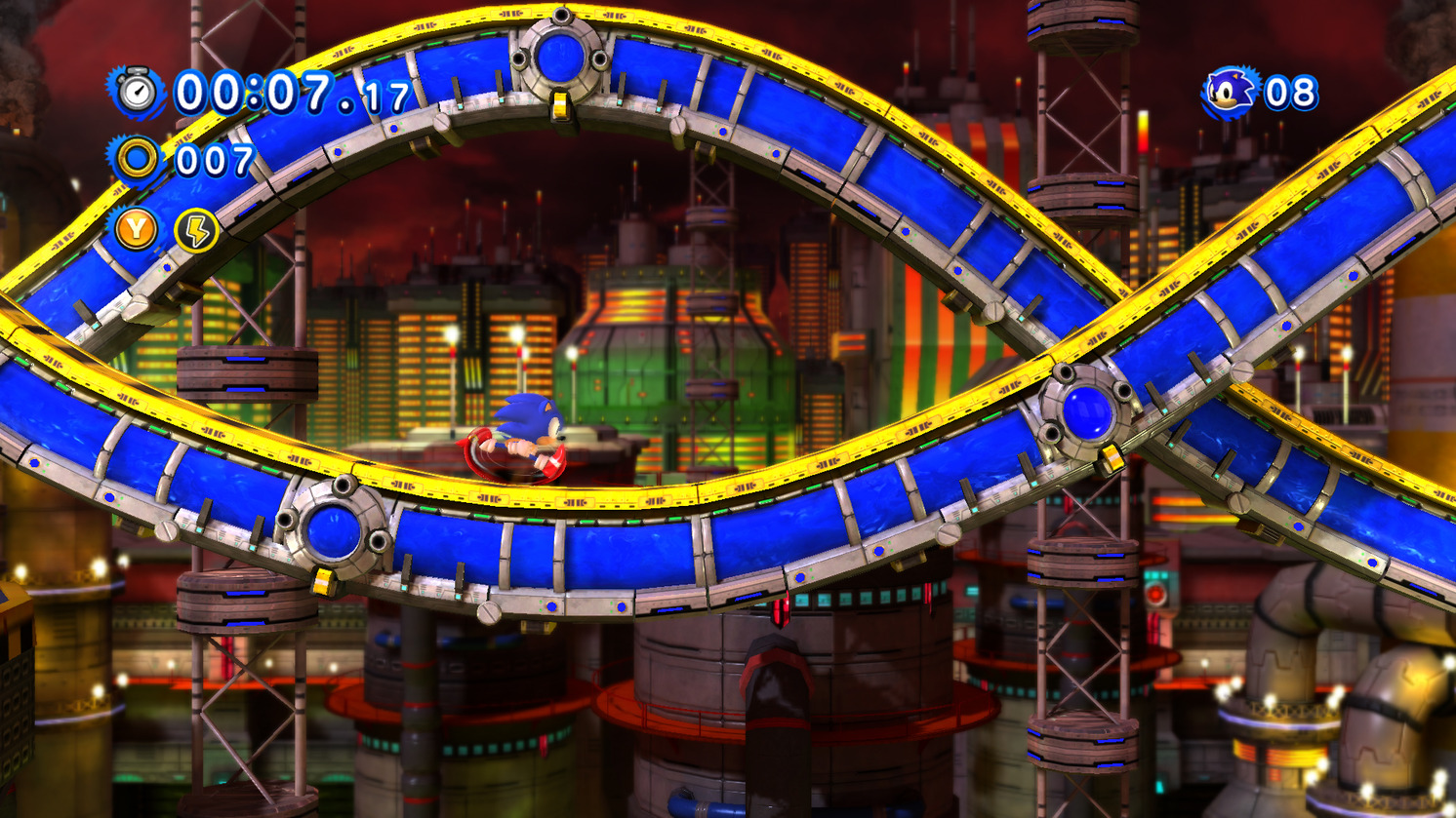 Chemical Plant Classic Sonic Sonic Generations