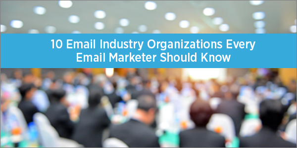 Email Industry Organizations