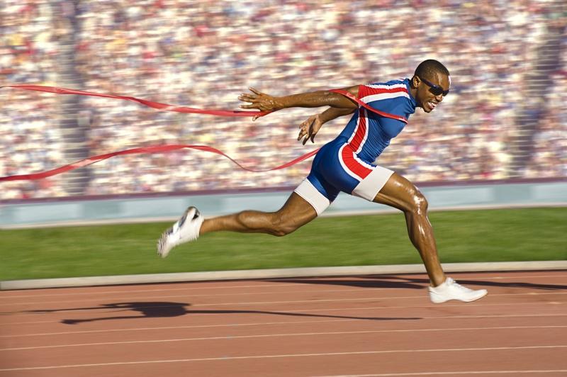 Email Olympics: Elite Runner Winning Gold