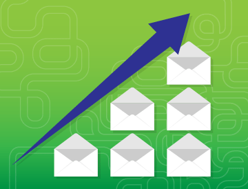 scalable email infrastructure email growth chart