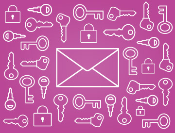 pink envelope keys dkim validation