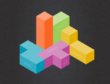 tetris blocks CSS modules
