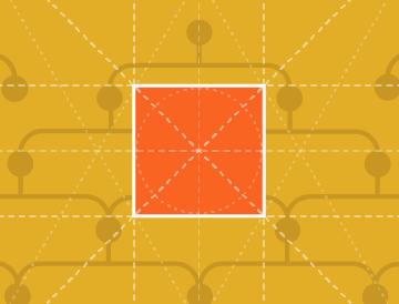 yellow background orange square stored templates subaccount