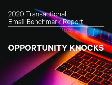 2020 Transactional Email Benchmark Report