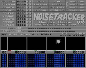 NoiseTracker blev ett vanligt verktyg för demomusikern när det släpptes 1989.