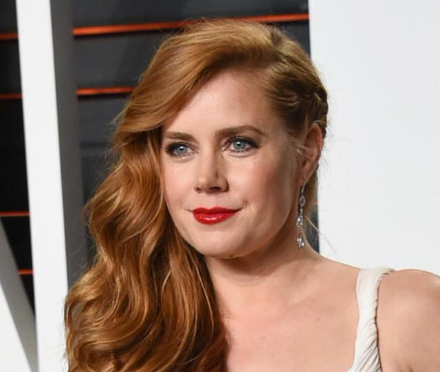 28 Photo Actress Amy Adams Arrives At The Vanity Fair Oscar