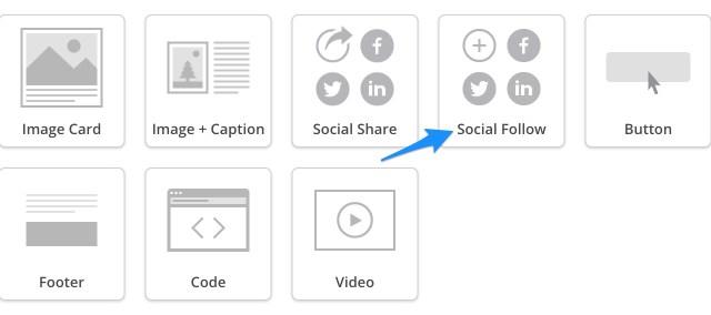 Social Follow Widget