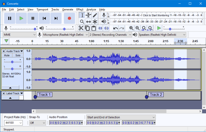 Despite popular belief, you can figure out how to start a podcast using free software such as audacity