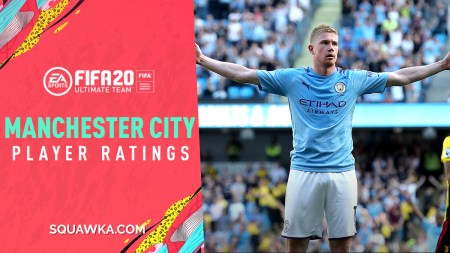 Man City FIFA 20 Player Ratings: Full Squad Stats, Cards, Skill Moves