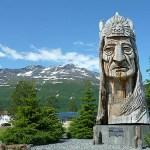 Indianstatyn. Valdez